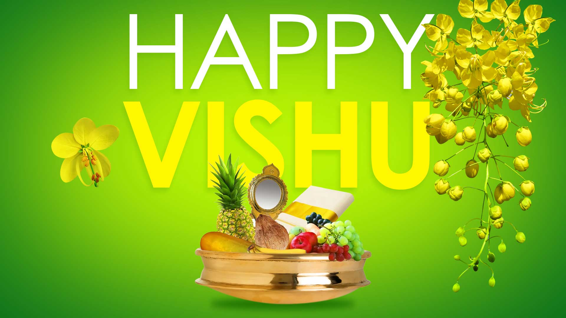 Free Vishu Greeting Cards HD ECards